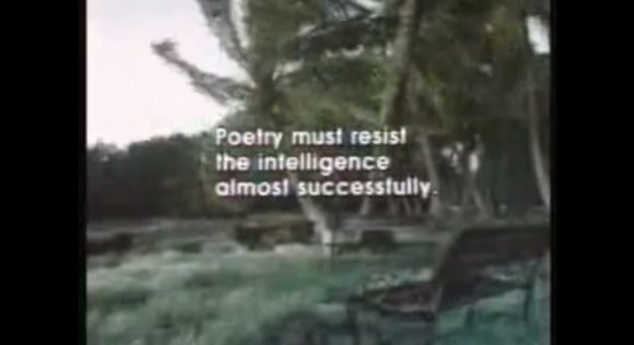 poetry must resist
